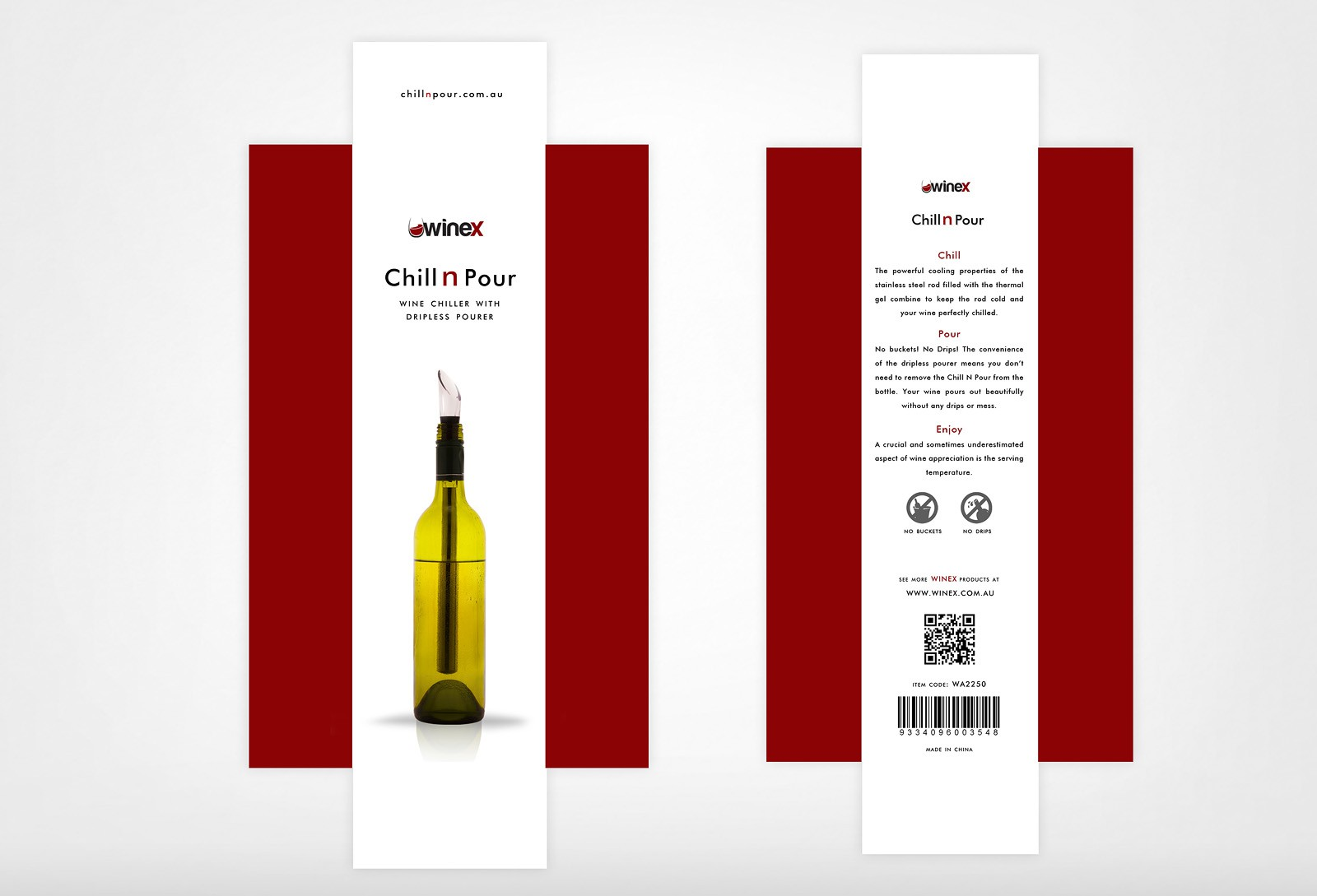 Help Winex Pty Ltd with a new product packaging