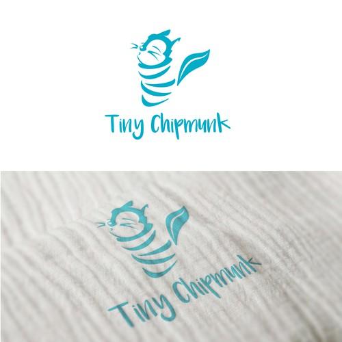 Logo for baby muslin swaddling garment