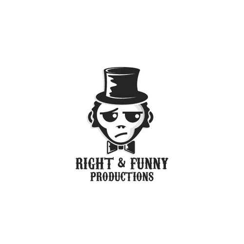 Youthfull vintage logo for a comedy show