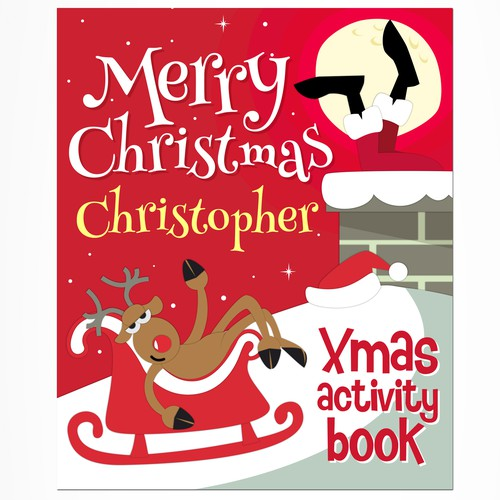 Playful Christmas Book Cover