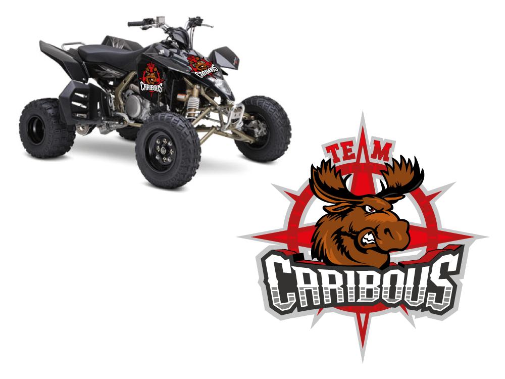 """Créer le logo de l'association de Quad """"Team caribous"""""""