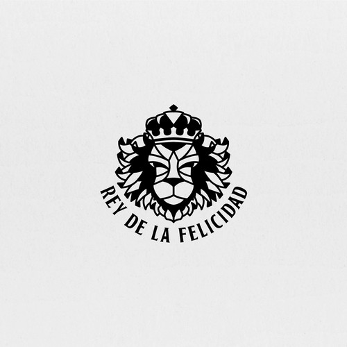 King Lion logo design for clothing brand