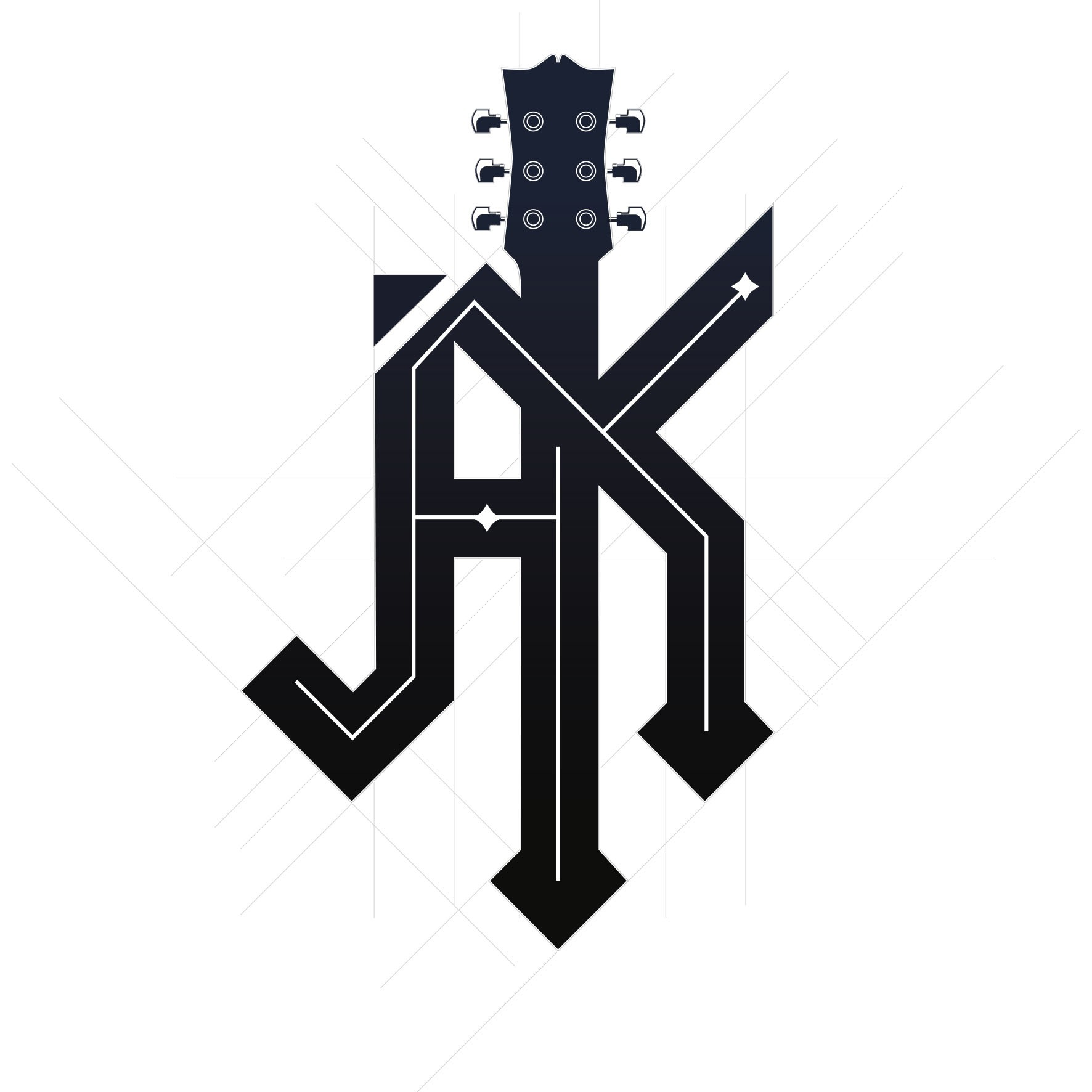 Band-Style Logo for a Rock Star Bar Mitzvah (World Tour 9.7.19)