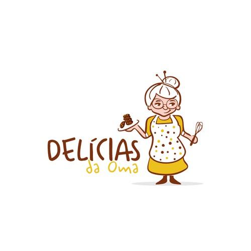 Delicias da Oma logo