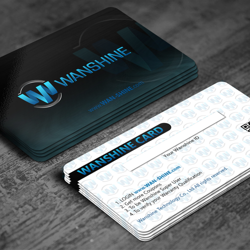 Wan-shine Membership card
