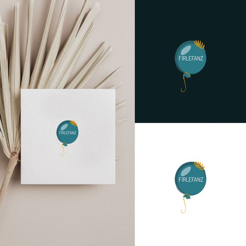 Logo for company that provides children's programs for weddings and other events