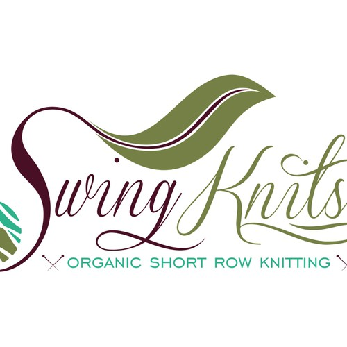 Design for an innovative intertwining of yarn and art in organic forms for Swing Knits®
