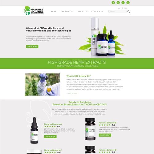 natures balance hemp product