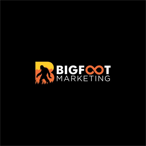 Bigfoot Marketing Logo design