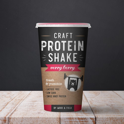 Craft Protein Shake / verry berry
