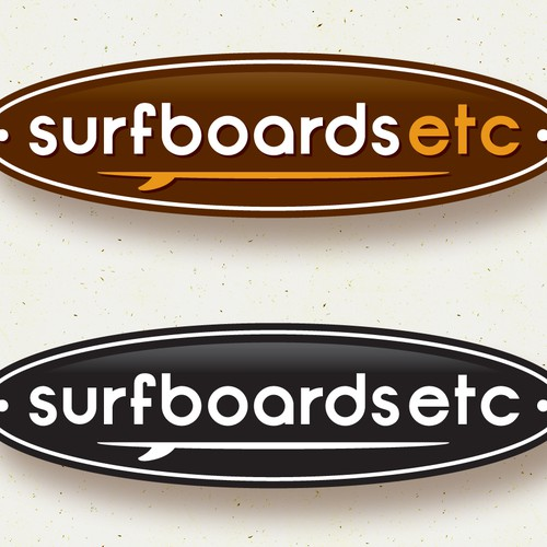 New Logo for Surfboards Etc