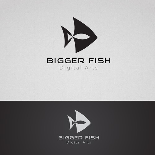 Logo for digital arts company