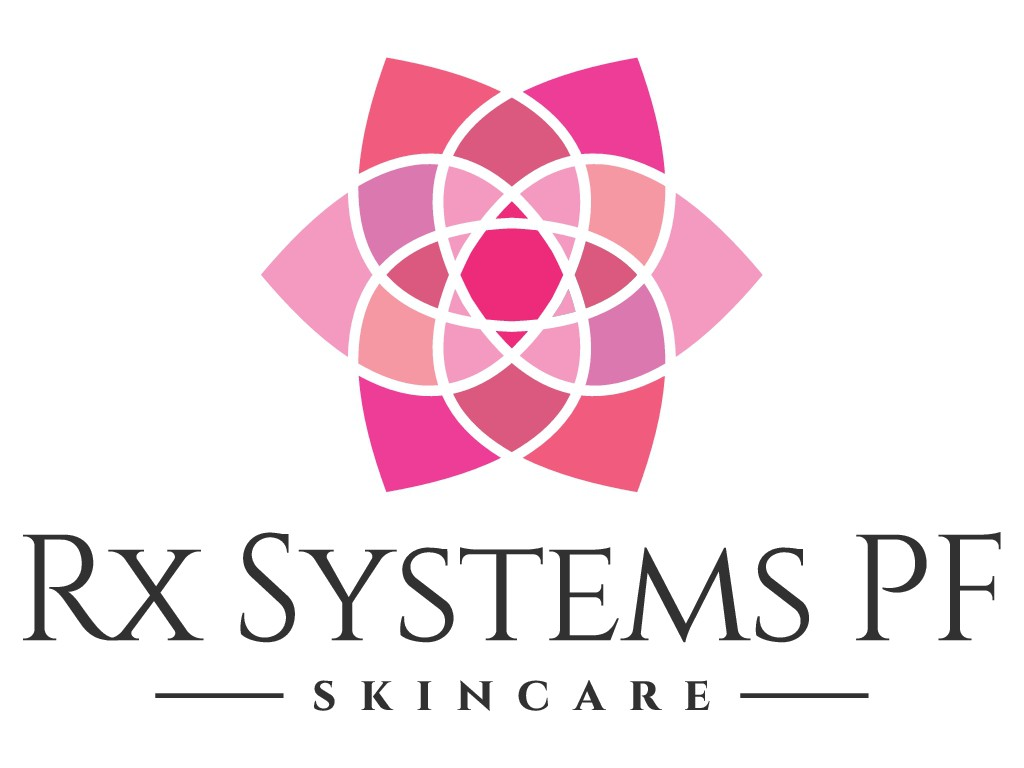 Logo for high end skincare product line sold to physicians and consumers.