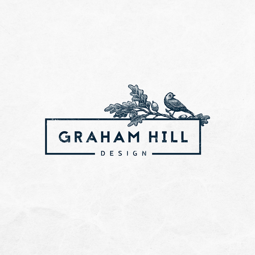 Graham Hill Design needs a logo to stand out from the crowd