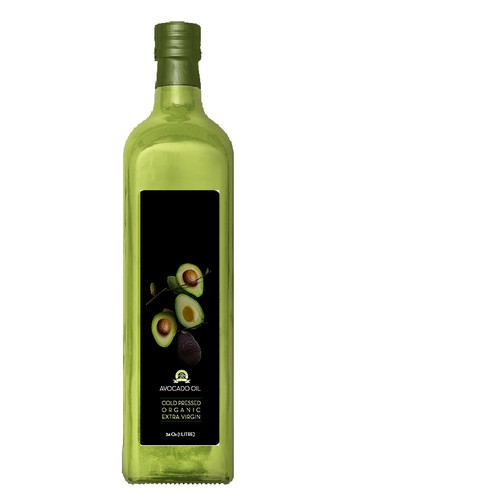Packaging design for avocado oil