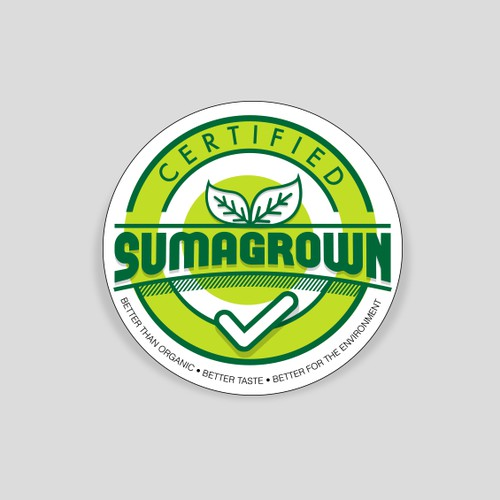 Logo/visual idenity for Sumagrown global certification program!
