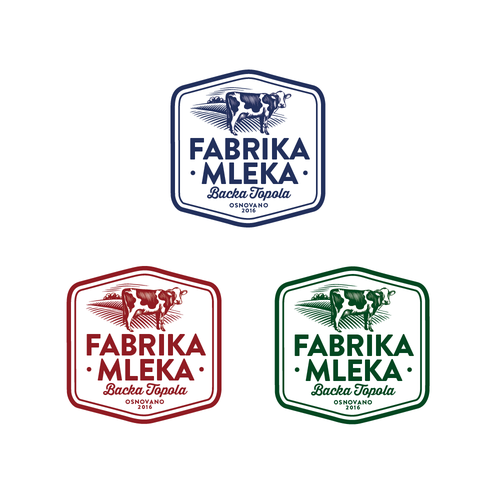 Logo for milk