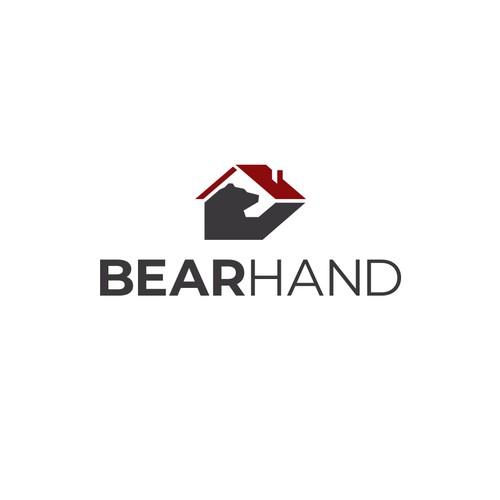 Bold Simple Bear Logo for Construction Company