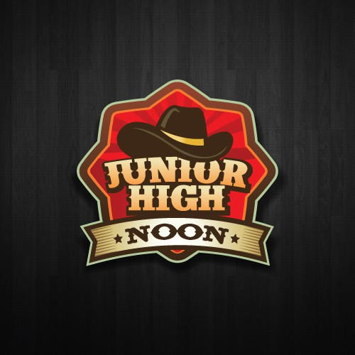 Create the next logo for Junior High Noon