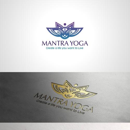 logo for Mantra Yoga