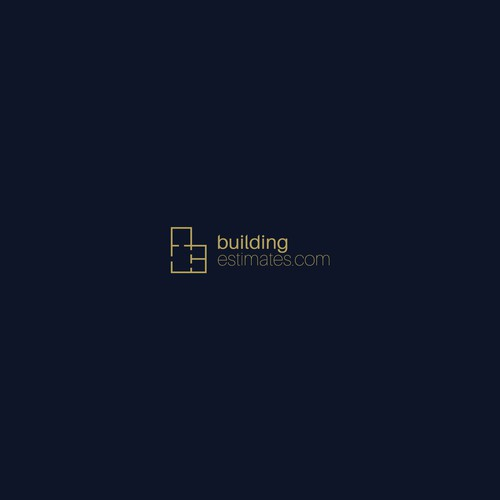 Modern logo for building estimate services