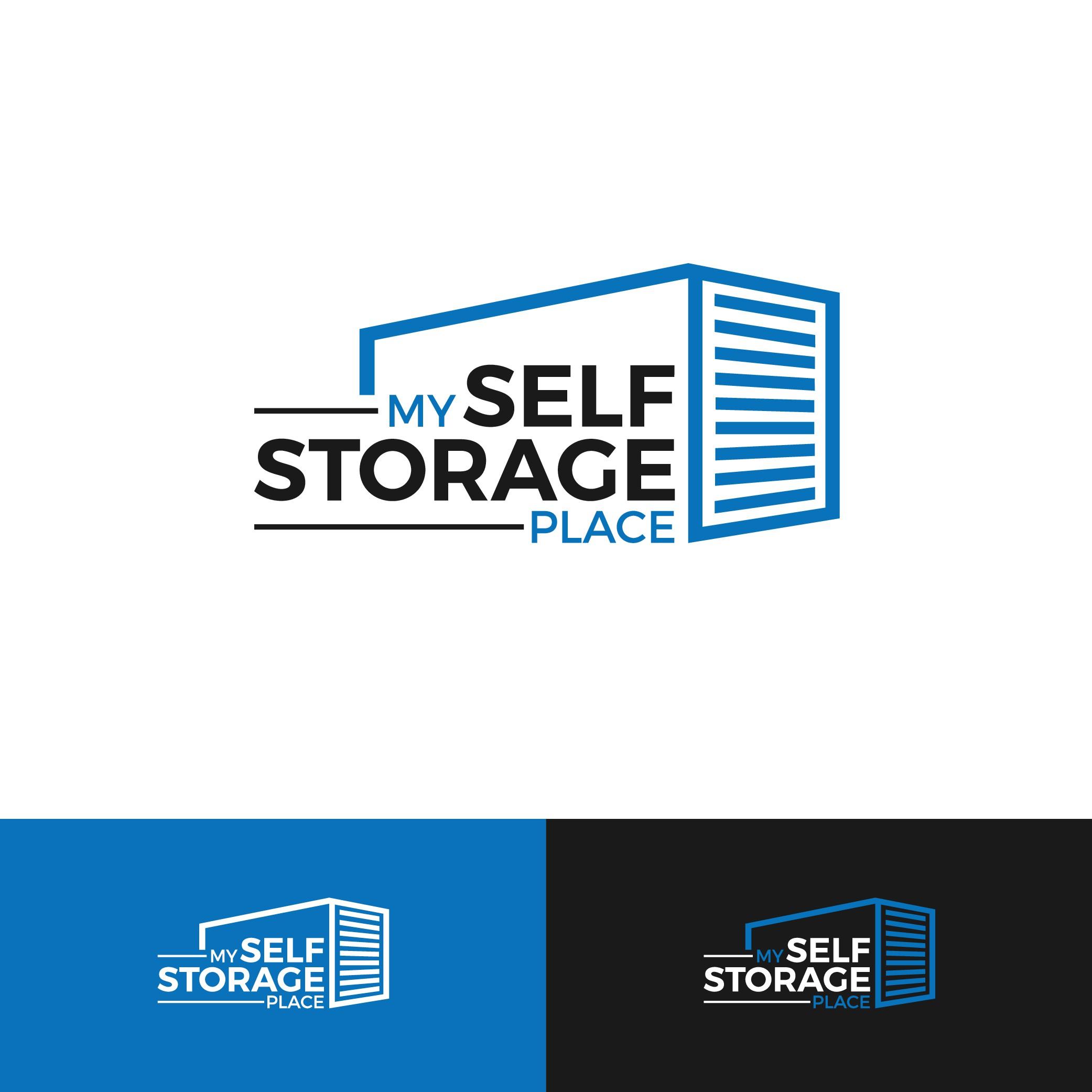 Create a friendly yet approachable modern self storage logo