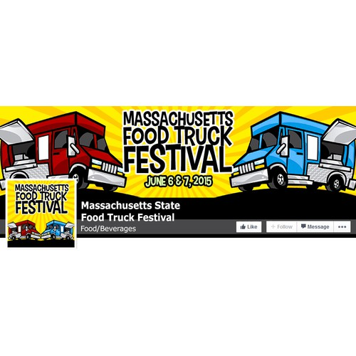 Facebook Cover and logo for festival
