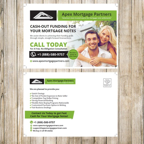 Post Card Apex Morgage Partners