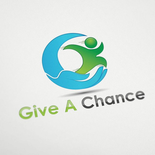 Help Give A Chance  with a new logo