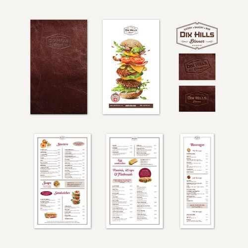 Restaurant classic Menu