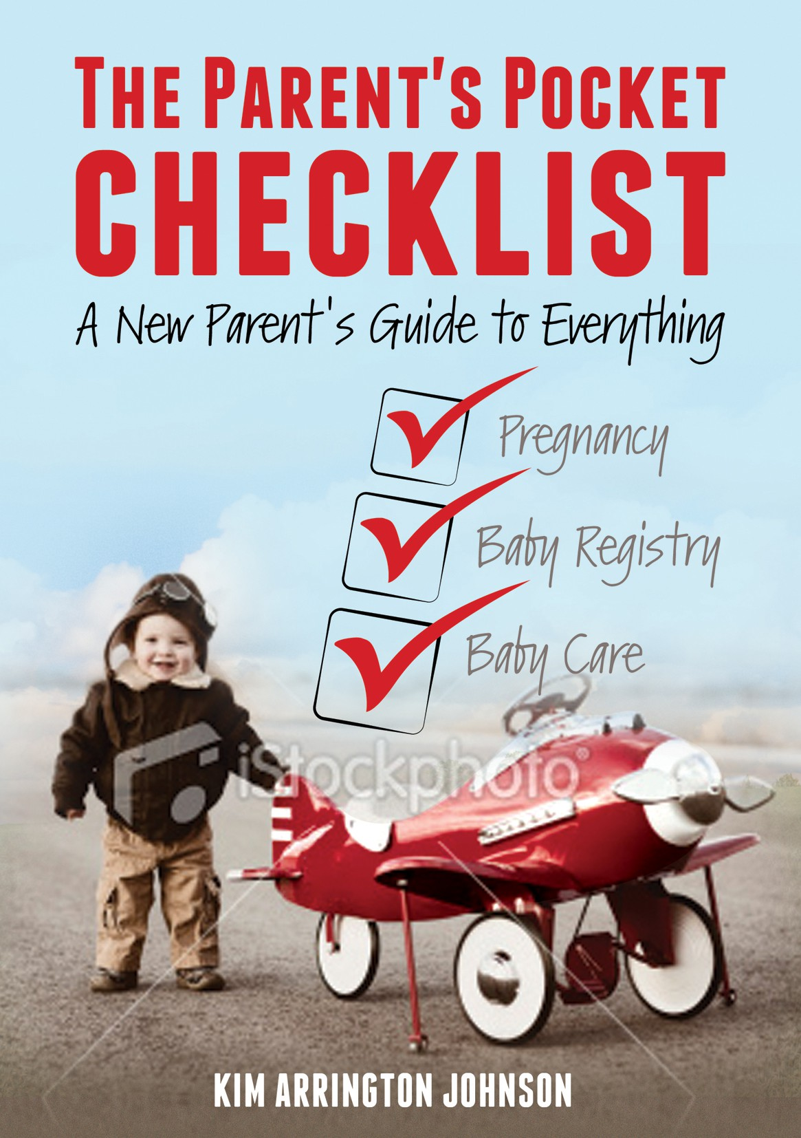 Create the next book or magazine cover for Parent's Pocket Checklist