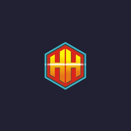 """Create a """"Superhero-Style"""" Logo with  two """"H""""s"""