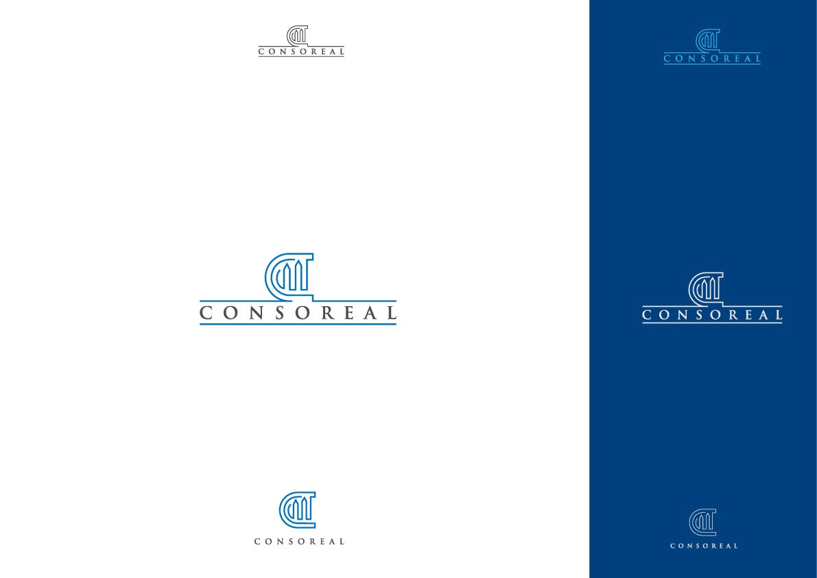 Logo design for new founded real estate company CONSOREAL needed