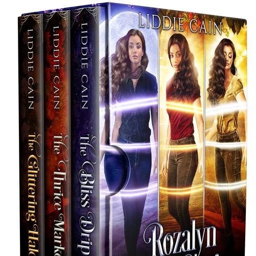 Box set design - Rozalyn Hunt Series by Liddie Cain