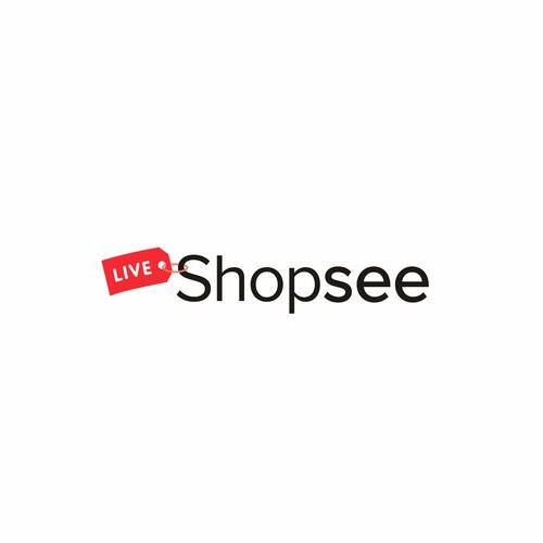 Shopsee logo design