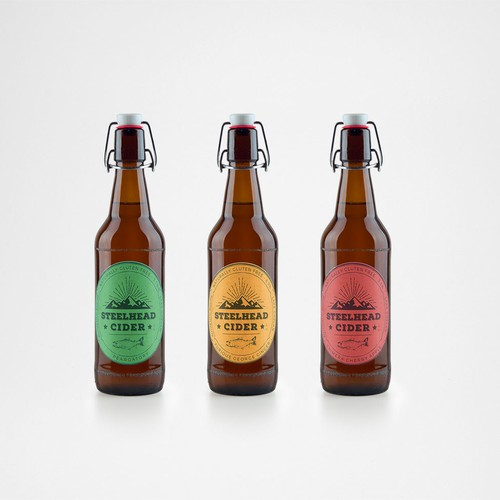 Cider packaging design