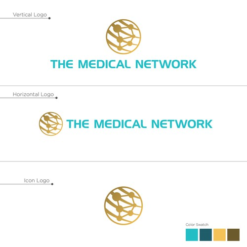 THE MEDICAL NETWORK Brand Identity
