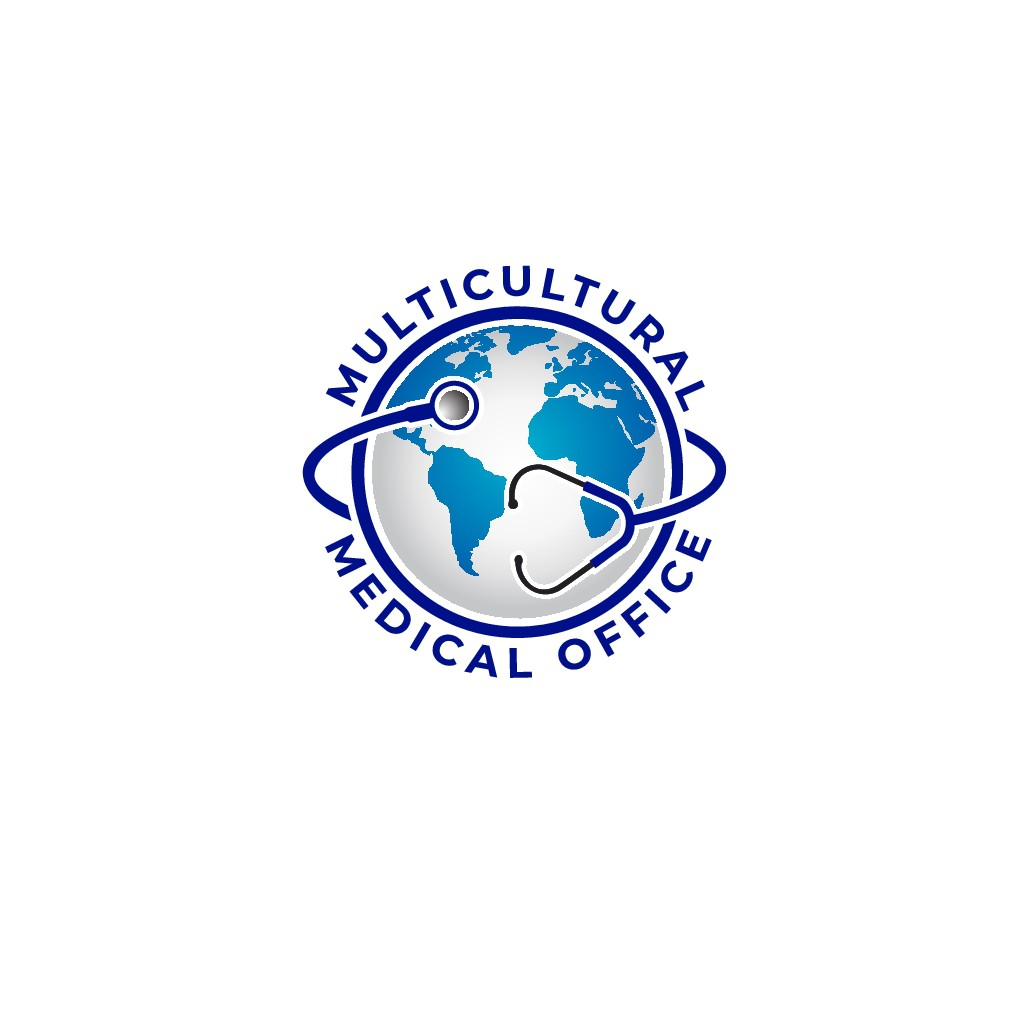 Create a Stethoscope Around the World LOGO for Medical Office