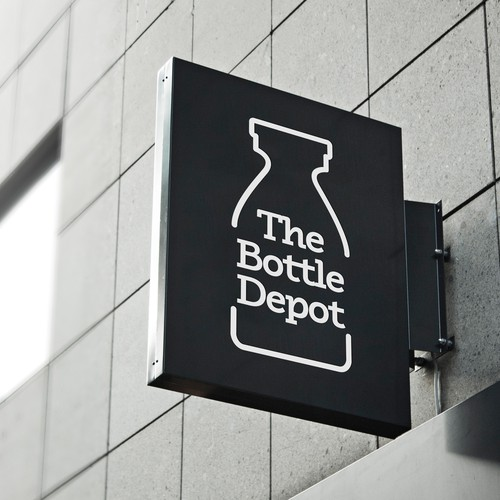 Bottle depot logo