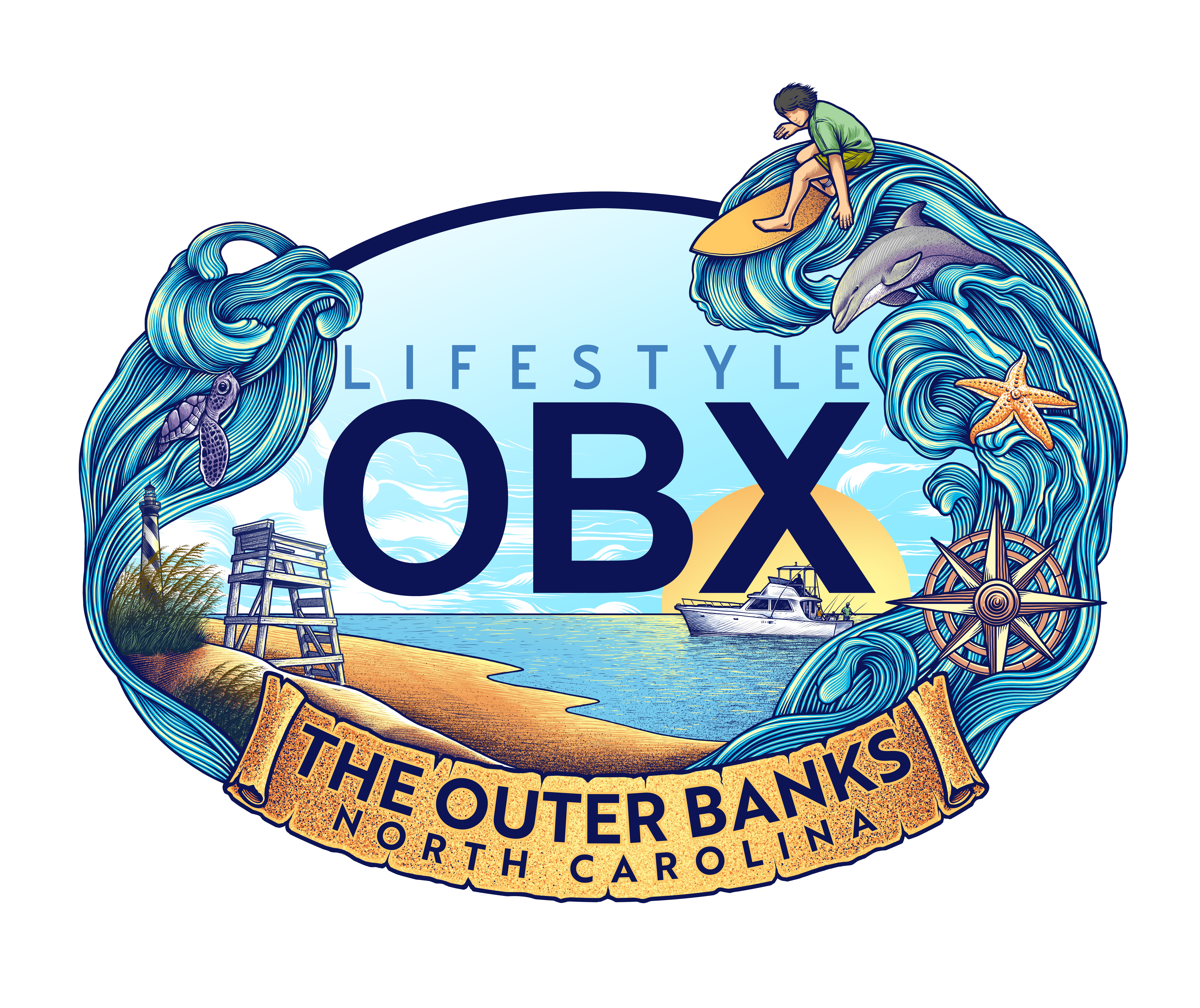 Lifestyle OBX Sticker