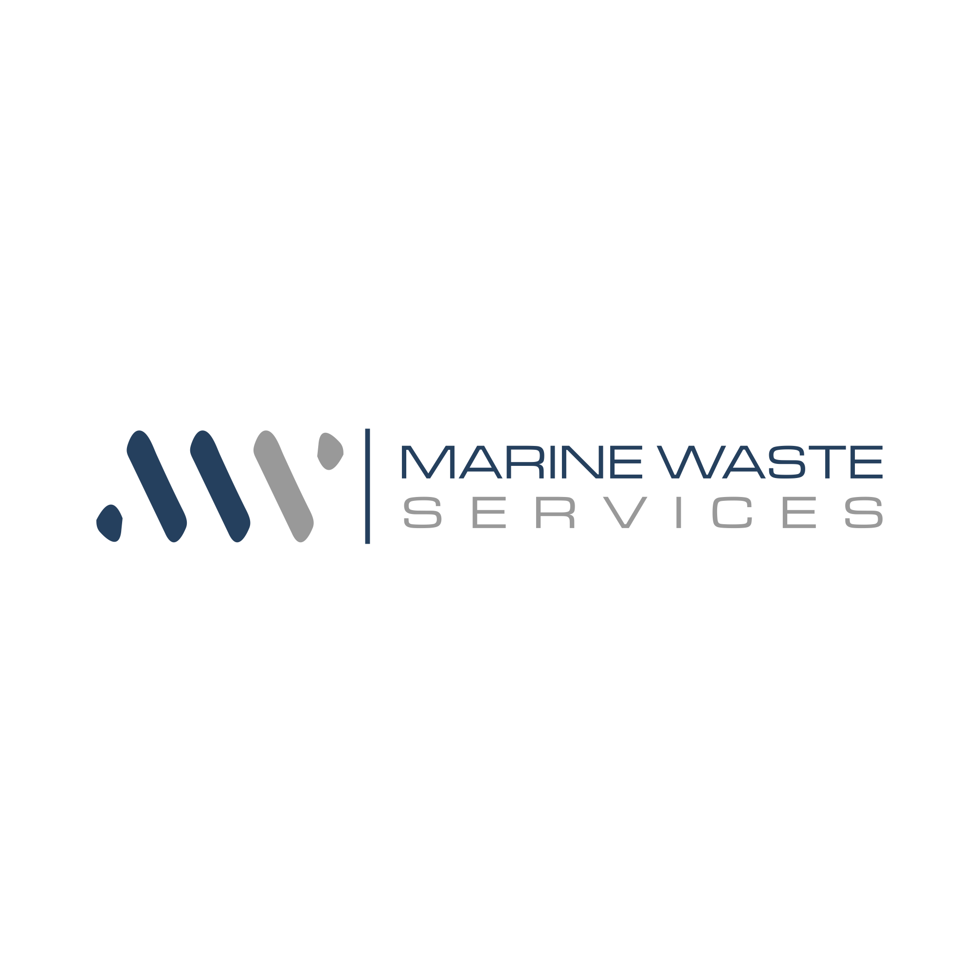 Clean quick logo for company handling regulated garbage