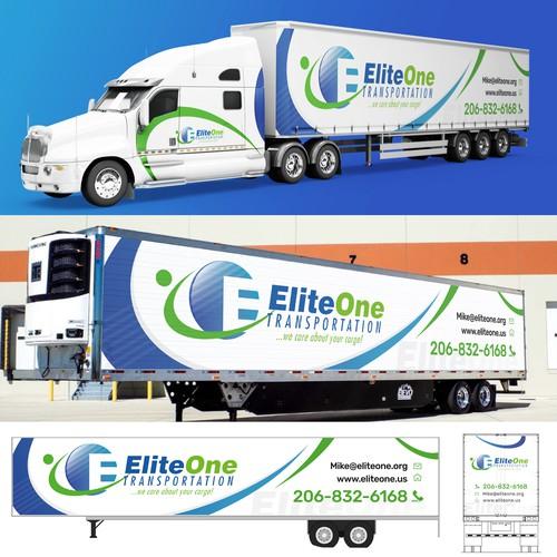 Elite one Truck branding