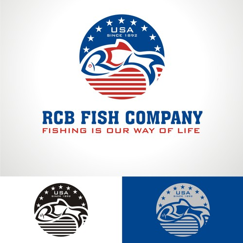 Create a capturing logo for 100 year old family fish company. Fishingis our way of life.