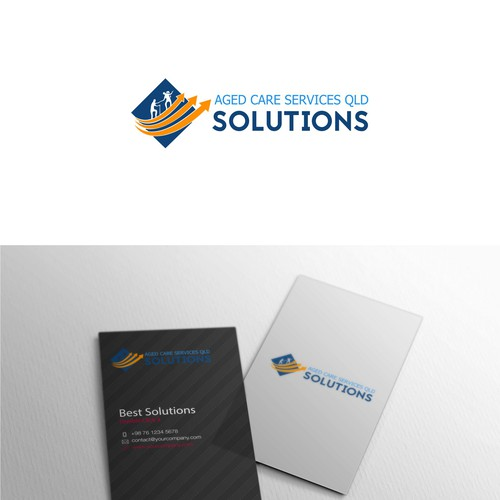 ex Logo Concept for Aged Care Services QLD Solutions
