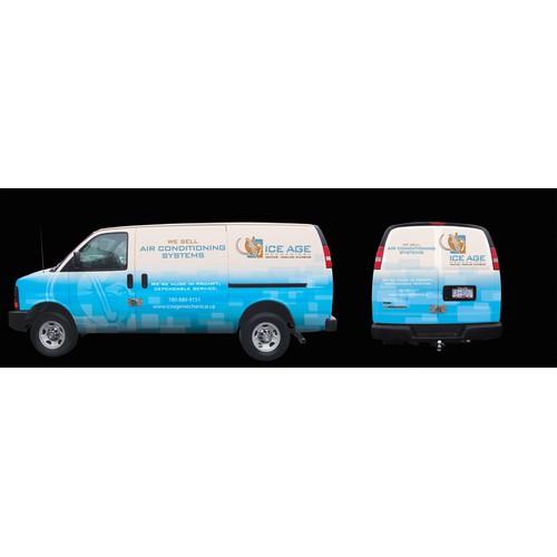 Ice Age Mechanical - Van Wrap