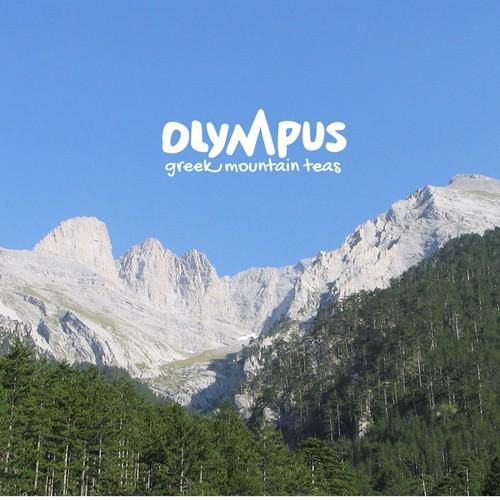 Logo design for Olympus - Greek Mountains Tea
