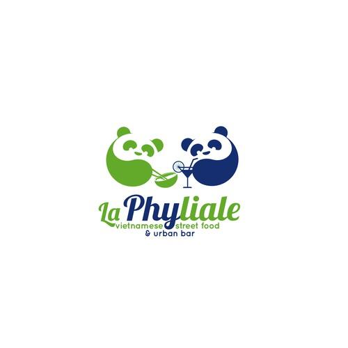 Panda yin yang