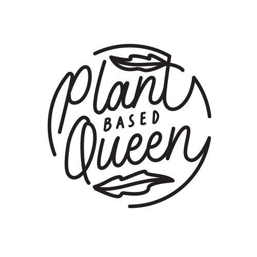 Plant Based Queen Typography