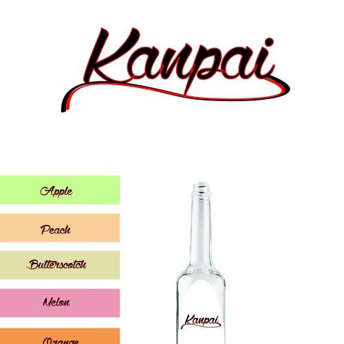 Create a logo for a new line of liqueurs