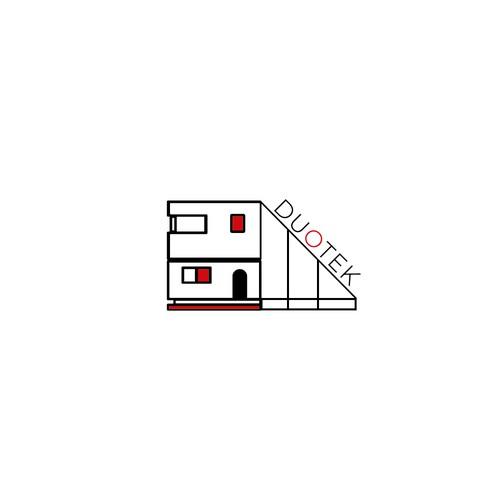 Duotek minimalist logo